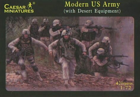 Caesar Miniatures H030 Modern US Army (with desert equipment)