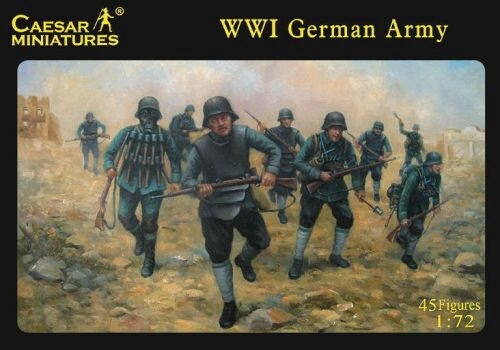 Caesar Miniatures H035 WWI German Army