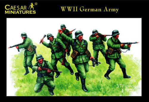 Caesar Miniatures H037 WWII German Army