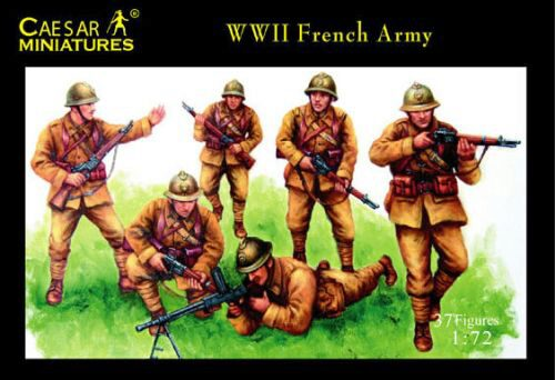 Caesar Miniatures H038 WWII French Army