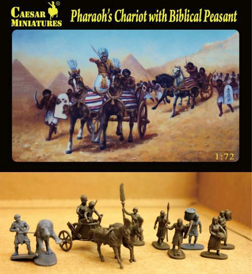 Caesar Miniatures H042 Pharaoh's Chariot with Biblical Peasant