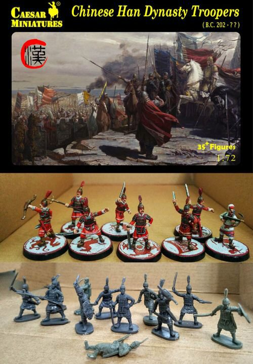 Caesar Miniatures H043 Chinese Han Dynasty Troopers