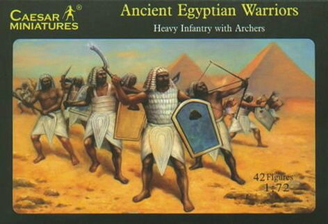 Caesar Miniatures H047 Ancient Egyptian Warriors (New kingdom Era)