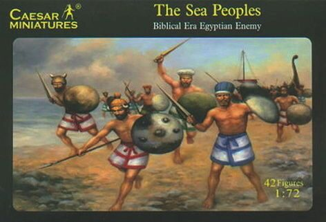 Caesar Miniatures H048 Sea peoples (Egyptian or Hittite Enemy)