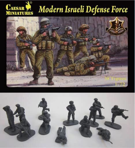 Caesar Miniatures H057 Modern Israeli Defense Force