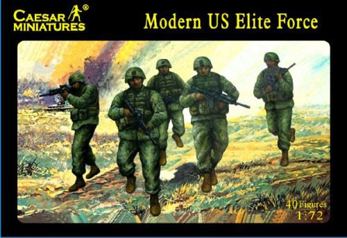 Caesar Miniatures H058 Modern US Elite Force
