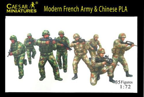 Caesar Miniatures H059 Modern French Army with Chinese PLA