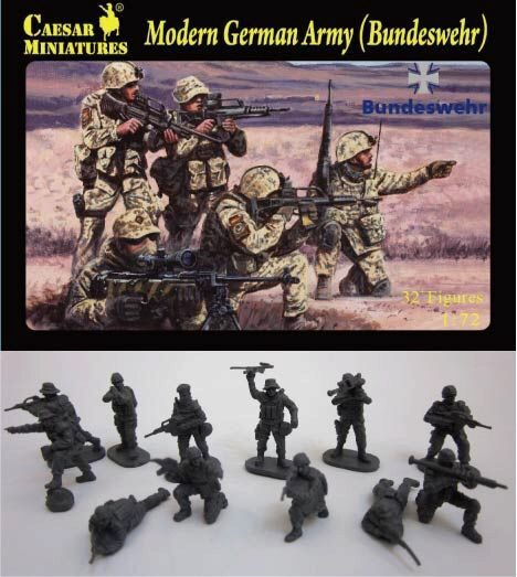Caesar Miniatures H062 Modern German Army (Bundeswehr)