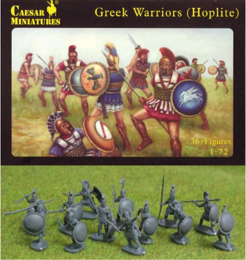Caesar Miniatures H065 Greek Warriors (Hoplite)