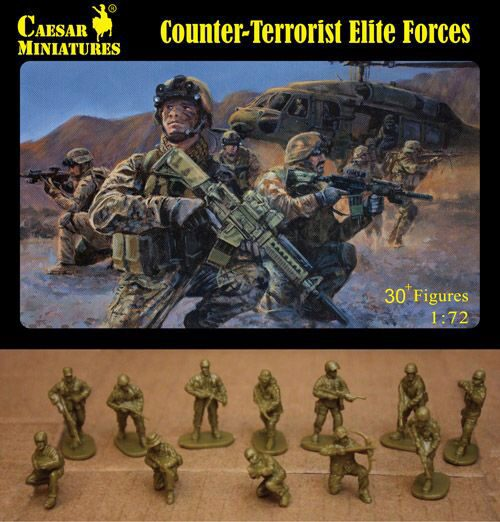 Caesar Miniatures H082 Counter-Terrorist Elite Forces