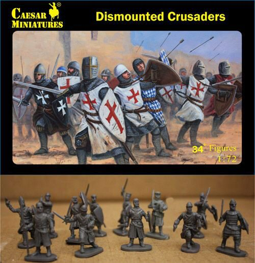 Caesar Miniatures H086 Dismounted Crusaders