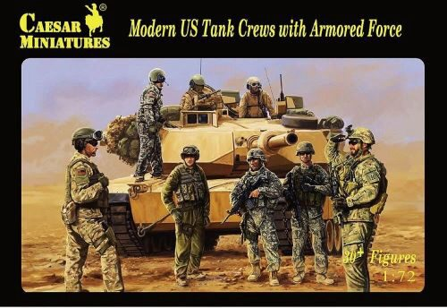 Caesar Miniatures H103 Modern US Tank Crews with Armored