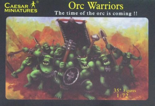 Caesar Miniatures F106 Orc Warriors
