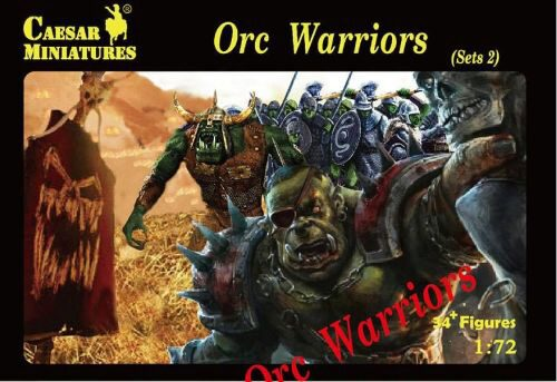 Caesar Miniatures F109 Orc Warriors Sets2