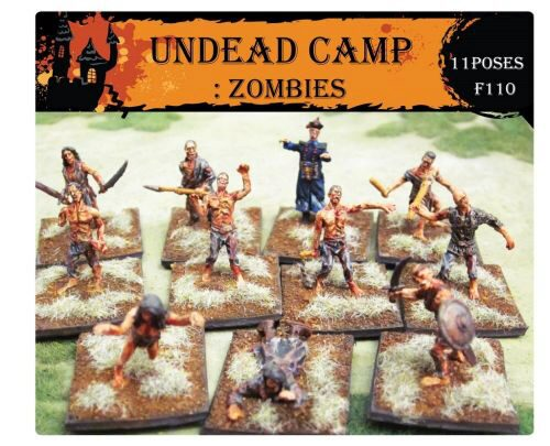 Caesar Miniatures F110 Undead Camp: Zombies