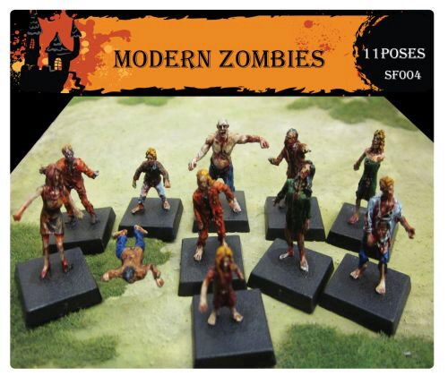 Caesar Miniatures SF004 Modern Zombies