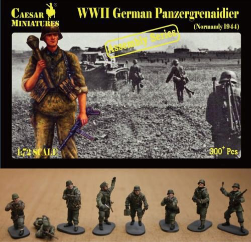 Caesar Miniatures CM7716 German Panzergrenaidier(Normandy 1944)