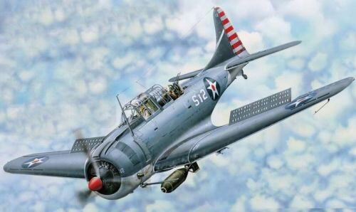 Merit 61801 SBD-3 Dauntless