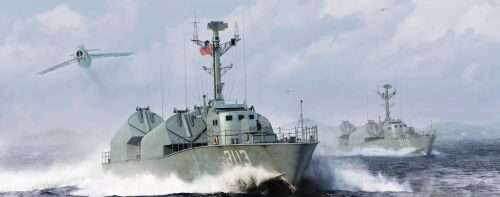 Merit 67203 PLA Navy Type 21 Class Missile Boat