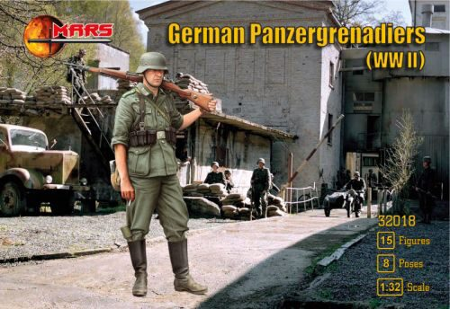 Mars Figures MS32018 German panzergrenadiers WWII