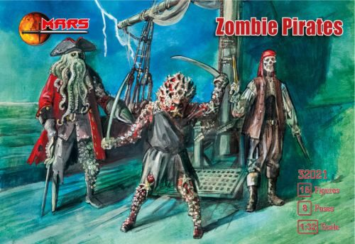 Mars Figures MS32021 Zombie Pirates