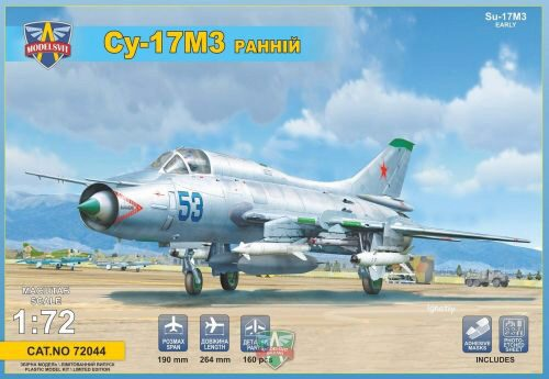 Modelsvit MSVIT72044 Sukhoi Su-17M3 Early vers. advanced fighter