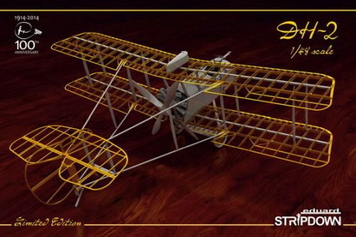 Eduard Plastic Kits 1185 DH-2 STRIPDOWN  Limited Edition