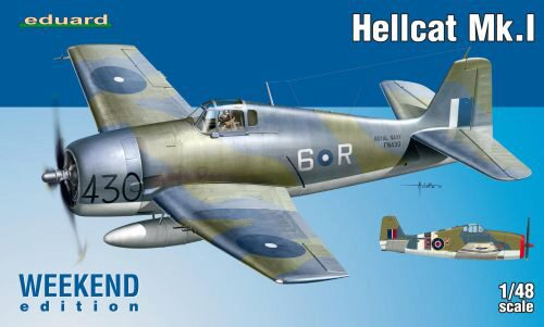 Eduard Plastic Kits 8435 Hellcat Mk.I Weekend Edition