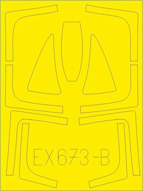 Eduard Accessories EX673 F-14D TFace for AMK