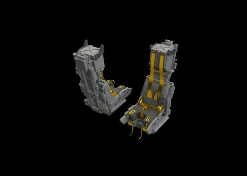 Eduard Accessories 648535 F-14D ejection seats for AMK