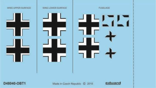 Eduard Accessories D48040 Fw 190A-2 national insignia for Eduard