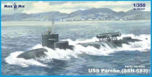 Micro Mir  AMP MM350-037 SSN-683 Parche (early version) submarine