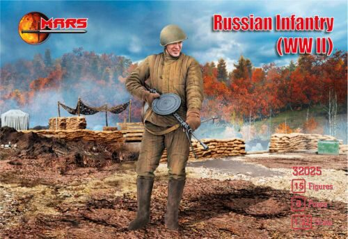 Mars Figures MS32025 WWII Russian infantry
