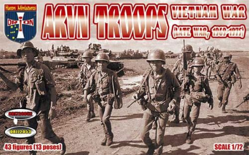 Orion ORI72052 Vietnam War ARVN troops (late war, 1969-1975)