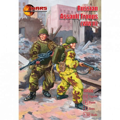 Mars Figures MS32026 WWII Russian Assault Troops