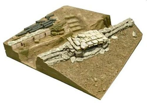Hobby Fan HF044 U.S. V.N. WAR MACHINE GUN BUNKER BASE (III)
