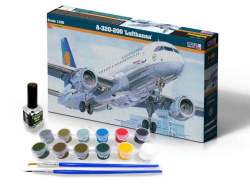 Mistercraft SF-08 A-320-200 Lufthansa SUPER SET