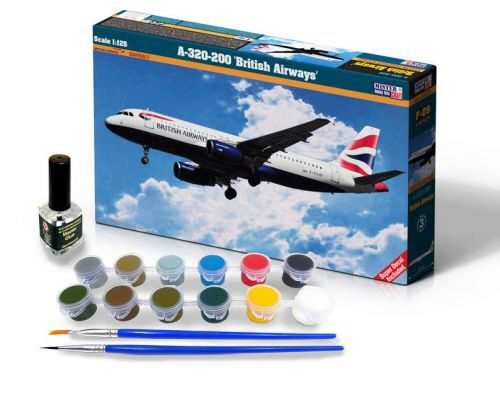 Mistercraft SF-09 A-320-200 British Airways SUPER SET