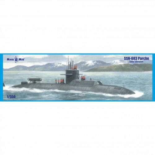 Micro Mir  AMP MM350-039 SSN-683 Parche (late version) submarine