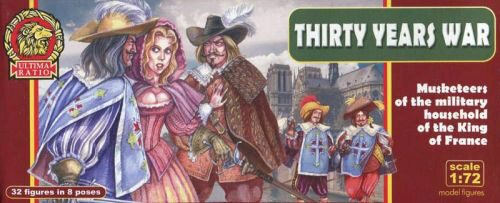 Ultima Ratio UR7212 Musketeers of the military hausehold of the King of France