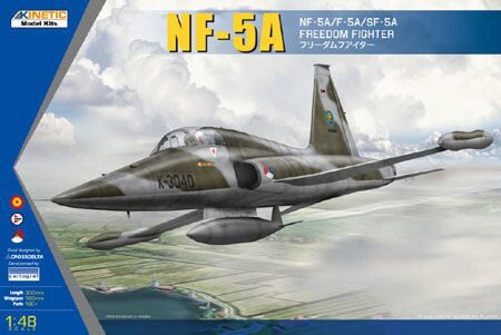 KINETIC K48110 NF-5A FREEDOM FIGHTER II (EUROPE EDITION) NL+N