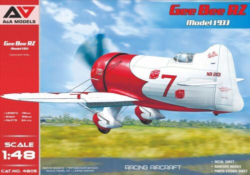Modelsvit AAM4805 Gee Bee R2 ( 1933 version) racing aircraft