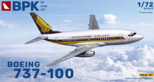 Big Planes Kits BPK7201 Boeing 737-100 Singapore Airlines