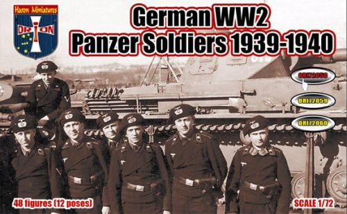 Orion ORI72058 WWII German Panzer Soldiers, 1939-1940