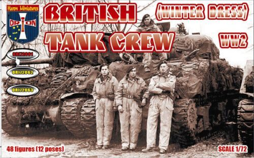 Orion ORI72061 WWII British Tank Crew (Winter Dress)