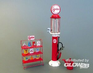 Plus model 511 Gasoline stand