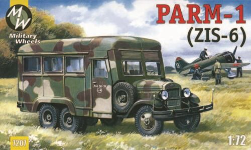 Military Wheels MW7207-02 PARM-1 + rubber wheels