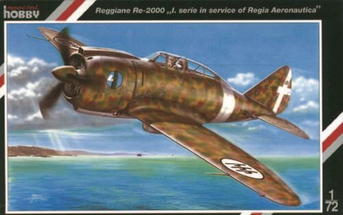 Special Hobby SH72079 Regianne Re 2000 Buble Canopy
