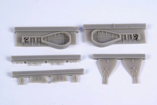 CMK 129-4371 J2M3 Raiden (Jack)-Untercarriage Set