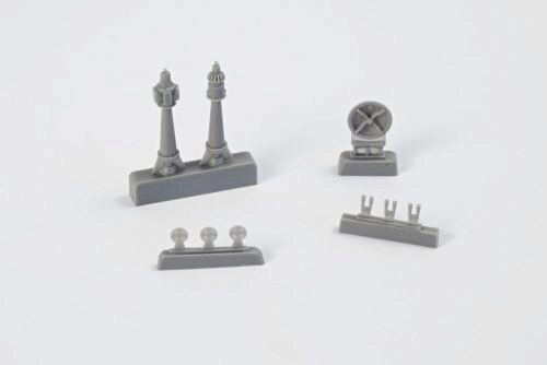 CMK 129-N72021 U-Boot IX Exterior Set Part II for Revell Kit